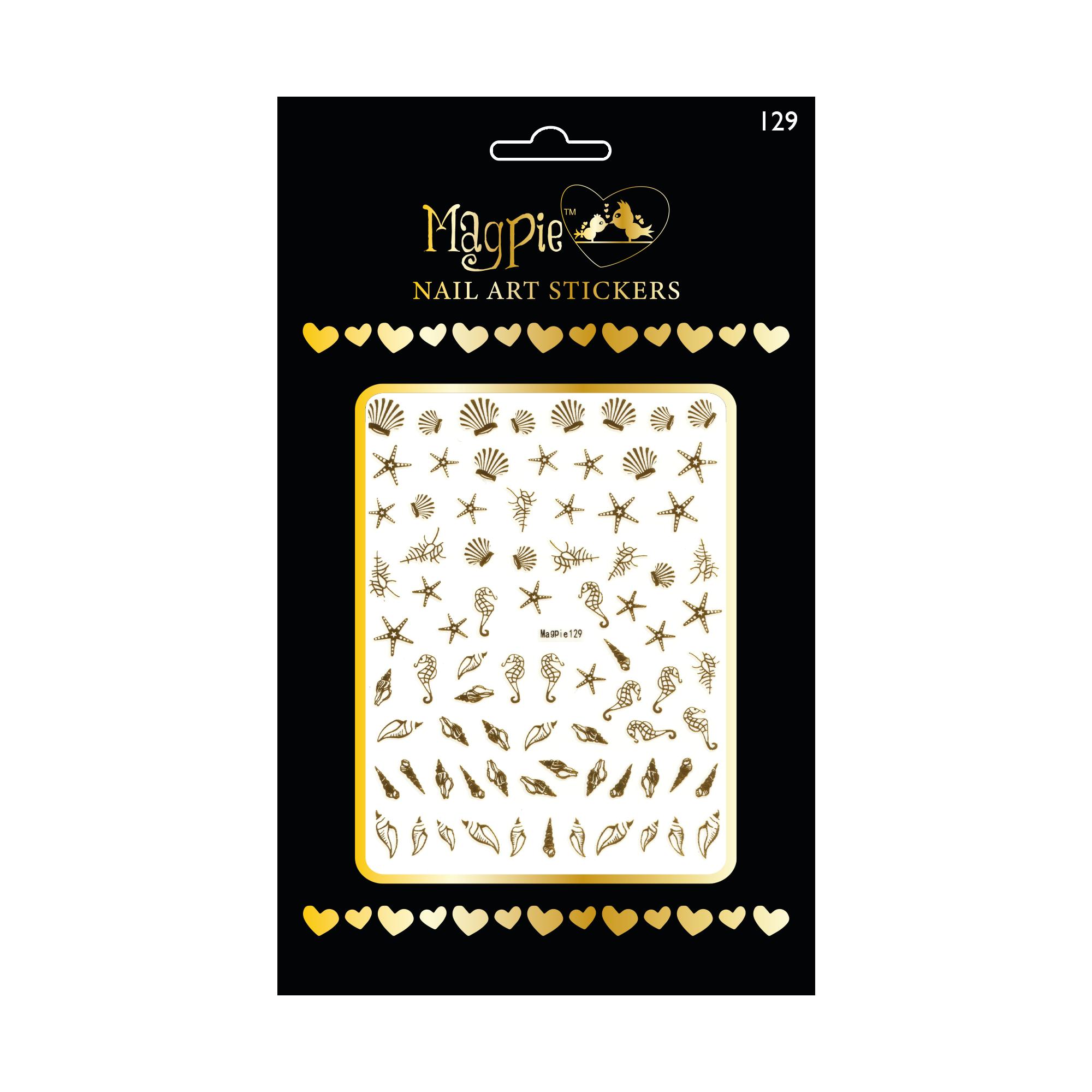 Magpie 129 stickers