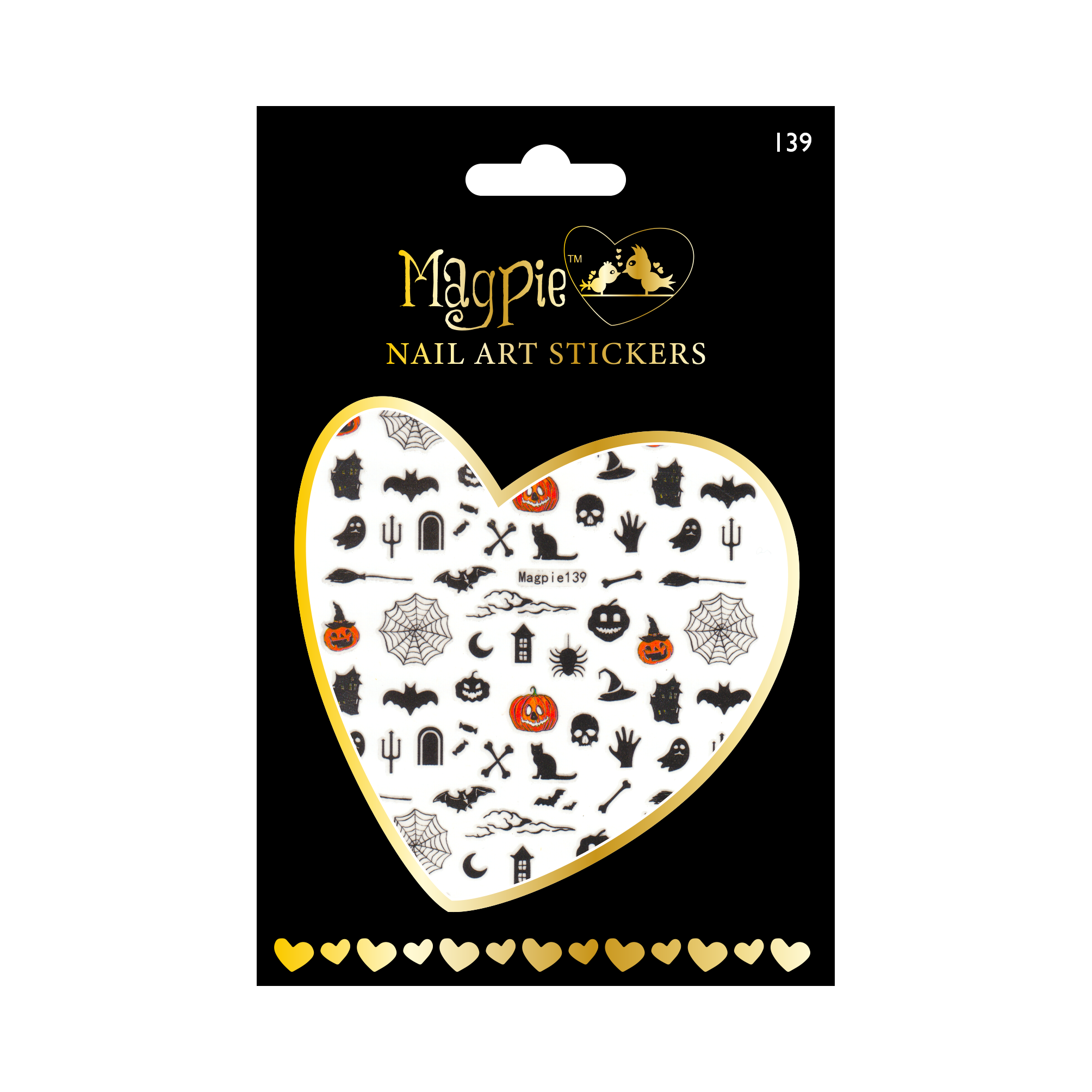 Magpie 139 stickers