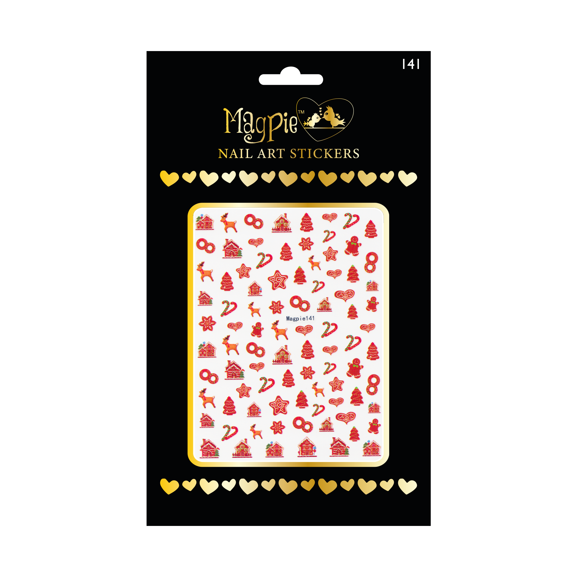 Magpie 141 stickers