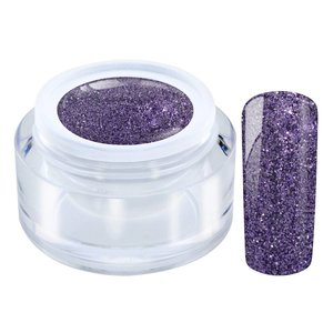 253 / Glitter Color gel purple