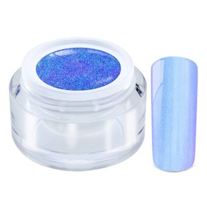 307/ Glimmer Color gel chrome blue