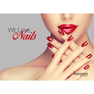 We Love Nails Poster