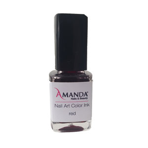 Nail Art Color Ink - Red