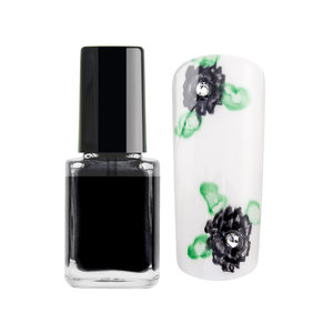 Nail Art Color Ink - Black