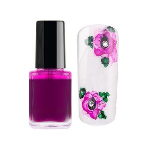 Encre de couleur Nail Art - Rose