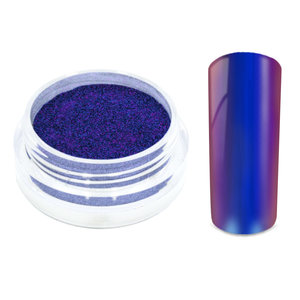 Chrome Powder Cyan Purple