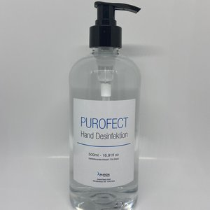 Hand disinfectant, 500ml