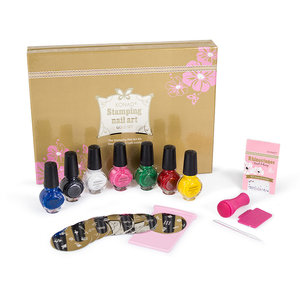 KONAD Stamping Nail Art Gold Set