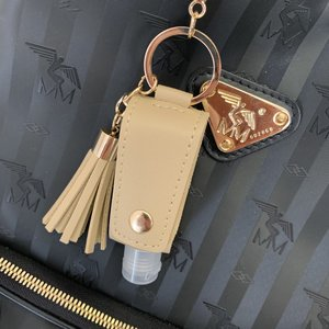 Disinfection Key Ring Beige
