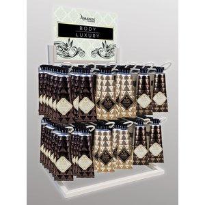 DISPLAY Hand Cream Body Luxury Warm Vanilla & Blossom 54-er Set