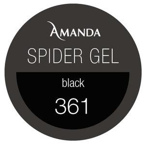 361/ Gel d'araignée Noir