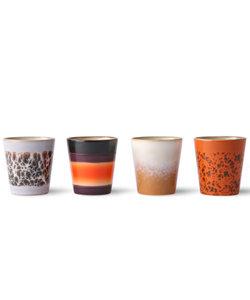 ristretto mugs - set van 4