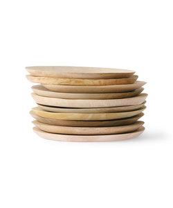 Assiette en bois de manguier