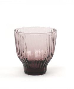 Handgemaakt roos gekleurd glas