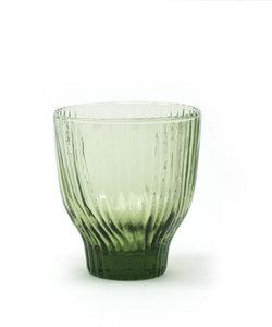 Handgemaakt groen gekleurd glas