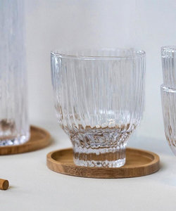 Handgemaakt transparant gekleurd glas