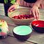 Noya Noya coconut bowl: Kokosnoot potje met kleurrijke look in muntgroen