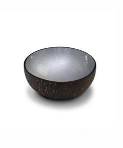 coconut bowl in grijs metallic