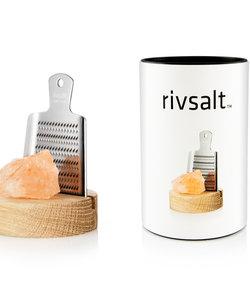Boîte cadeau: Râpe avec du sel de l'Himalaya