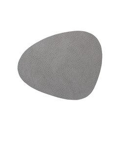 Napperons arrondis gris foncé