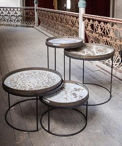 Ensemble bas de 2 tables d'appoint de Notre Monde