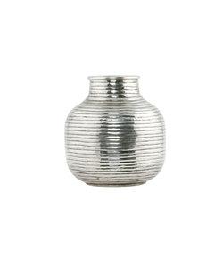 Vase argente, modèle médium