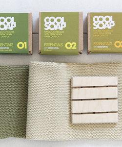 Gift box zepen groen