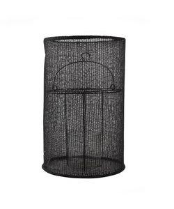 Lanterne noire en coton (large)