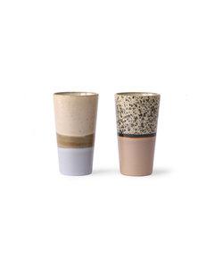 mug latte (set de 2)