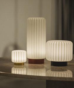 Lampe de table Dentelles H29 socle en terracotta