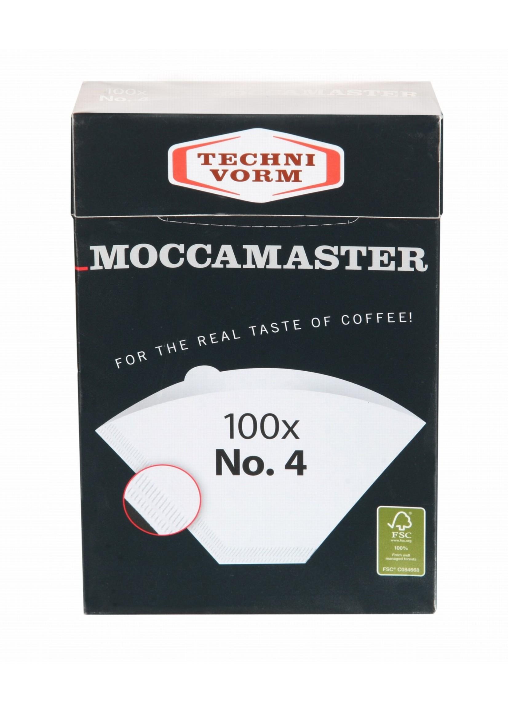 Mocca Master Moccamaster filterzakjes nr. 4 (100 st.)