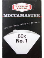 Mocca Master Moccamaster filterzakjes nr. 1 (80 st.)