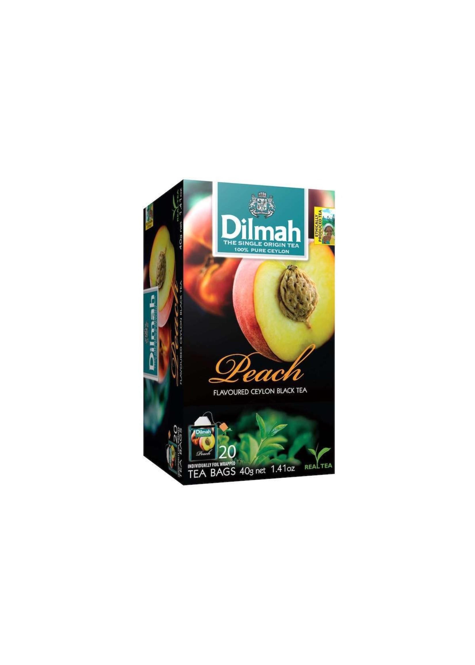 Dilmah Dilmah Peach Flavoured Ceylon Black Tea