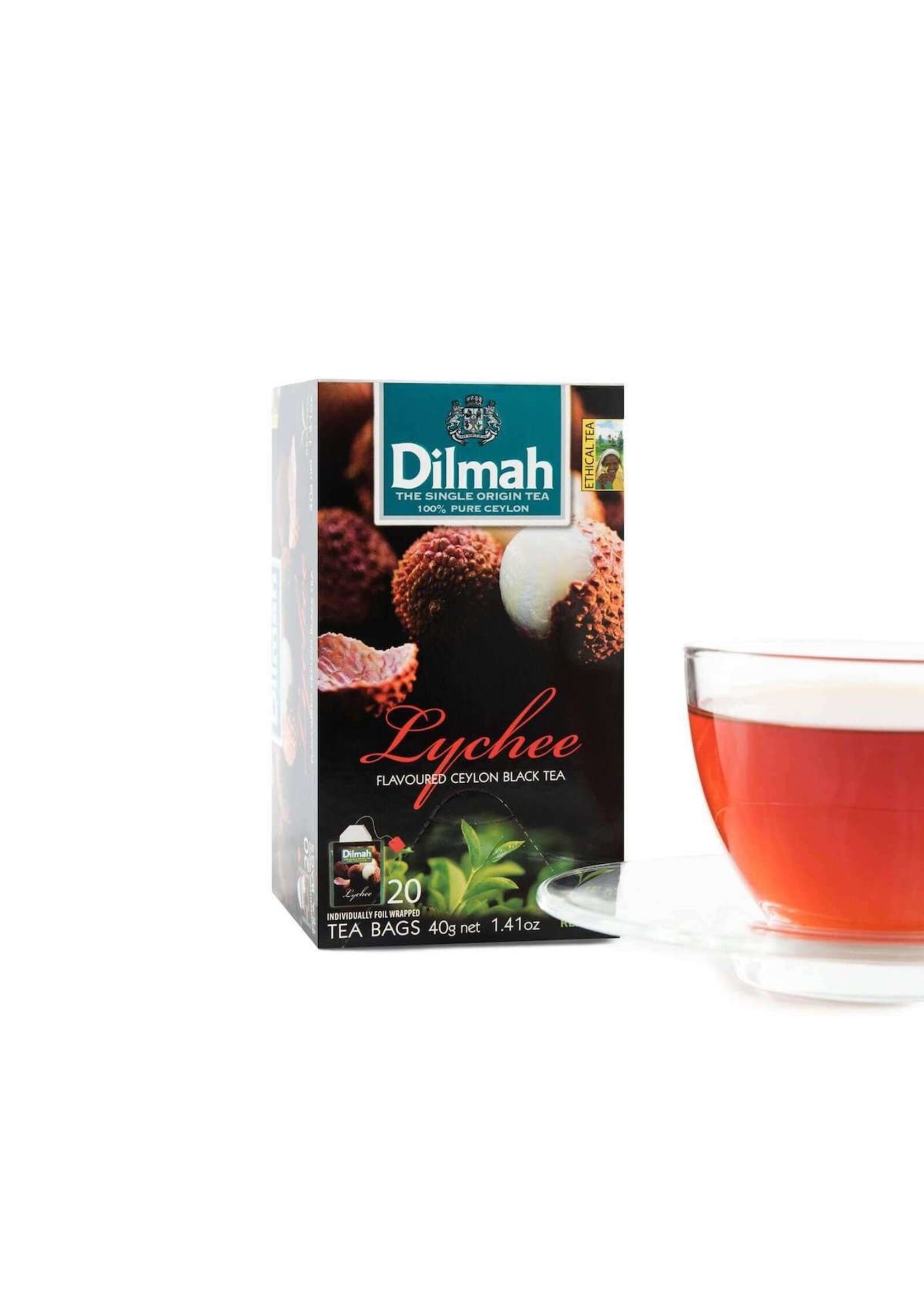 Dilmah Dilmah Lychee Flavoured Ceylon Black Tea