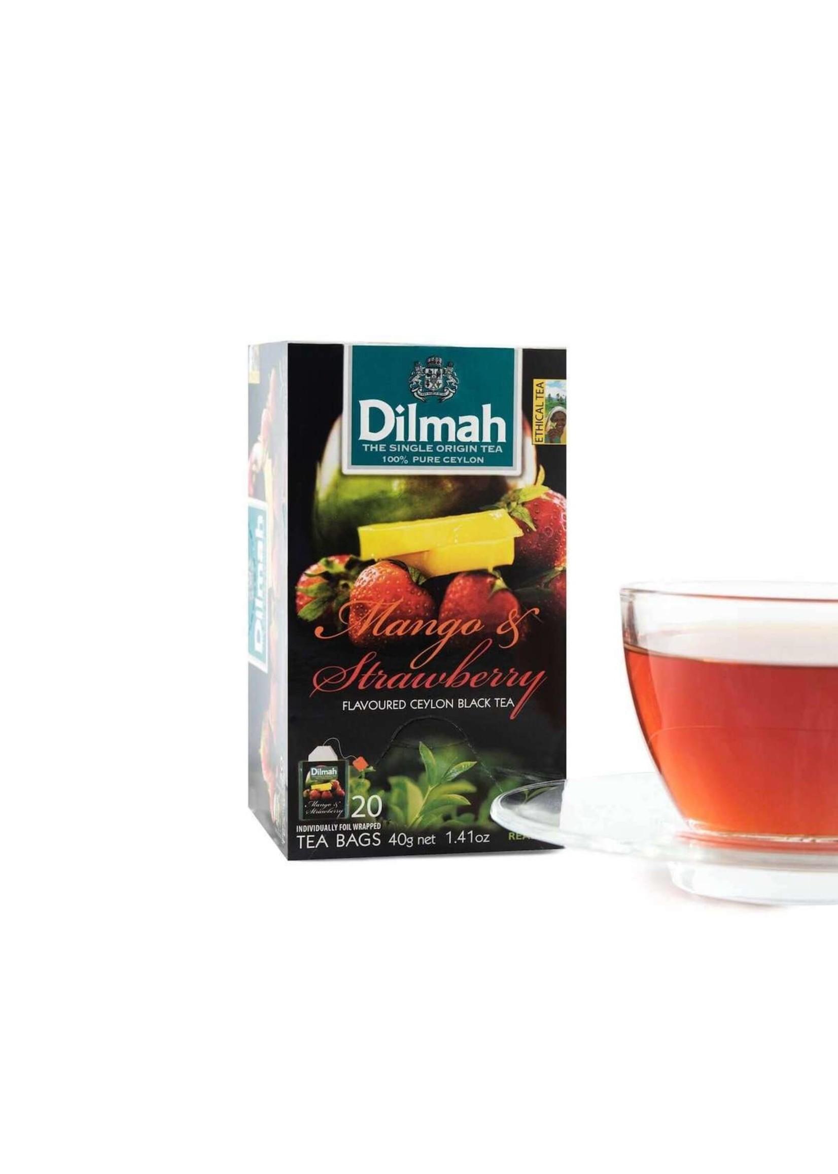 Dilmah Dilmah Mango & Strawberry Flavoured Ceylon Black Tea