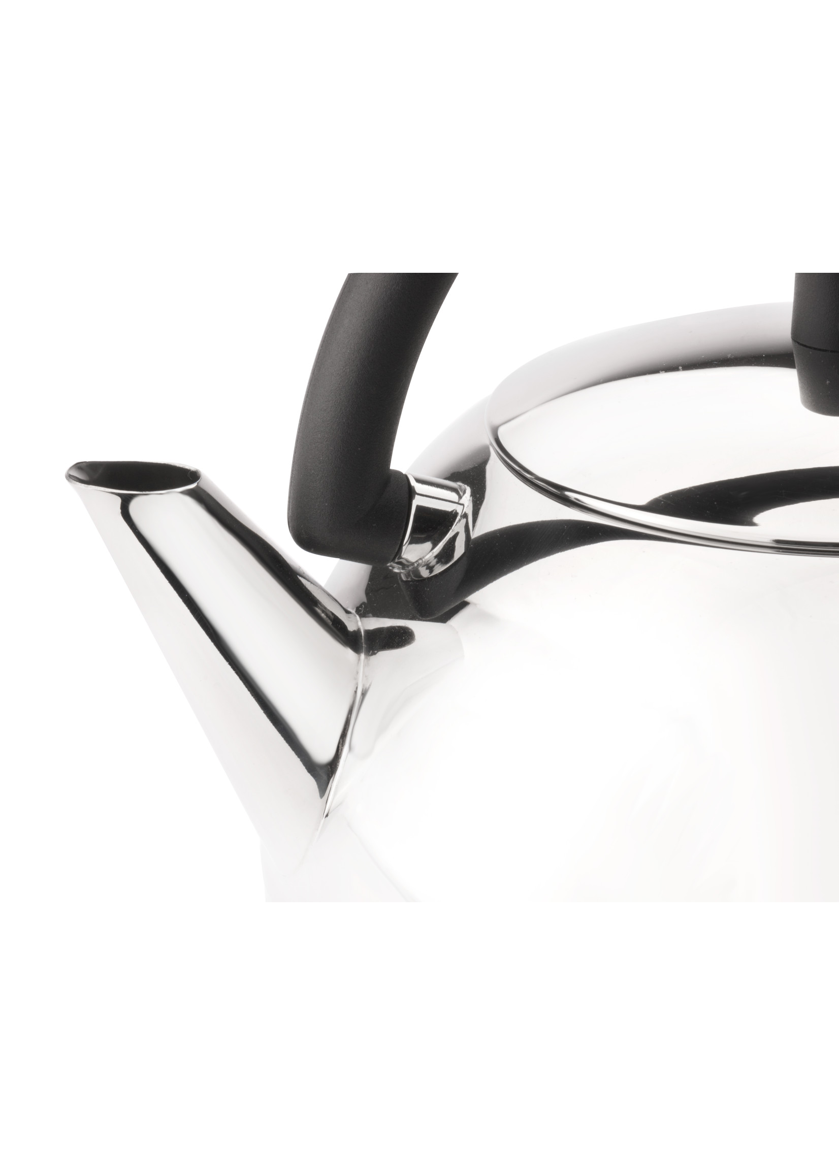 Bredemeijer Bredemeijer Theepot Duet® Design Saturn mat zwart 1,2L