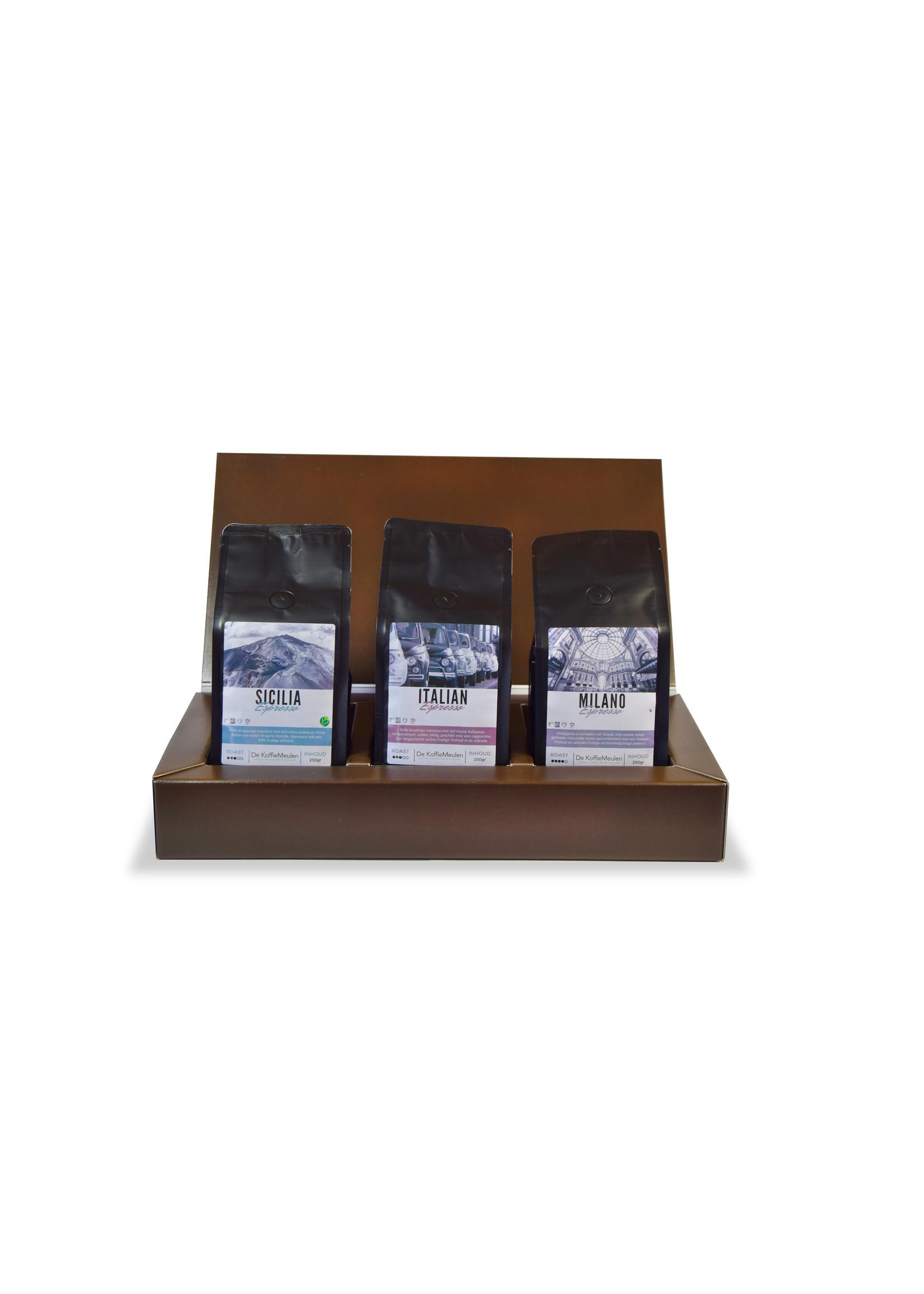 De KoffieMeulen Koffie Box Rondje Italie