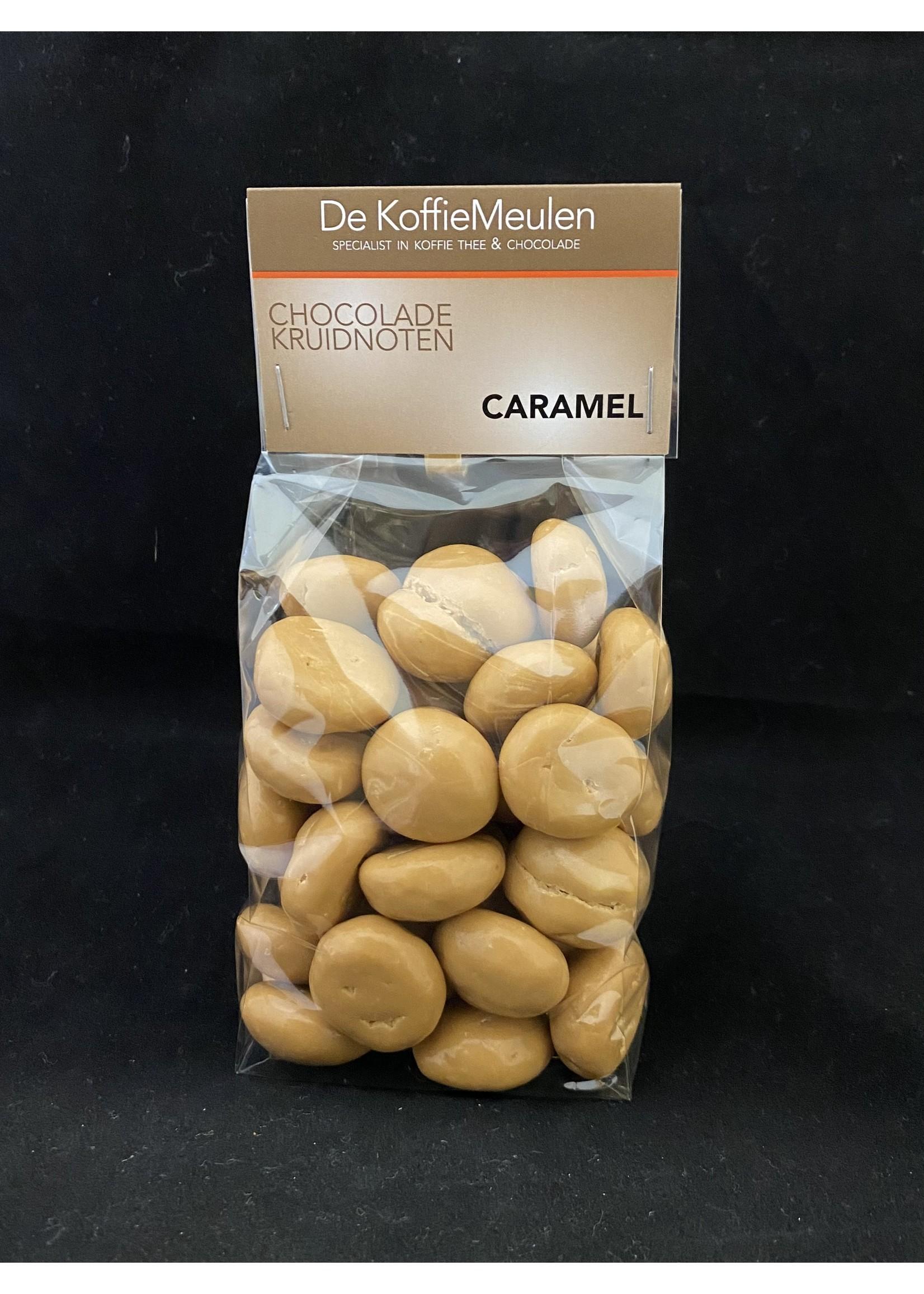 De KoffieMeulen Kruidnoten Caramel (witte chocolade) 225 gr