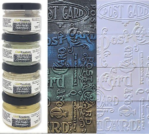 CraftEmotions CraftEmotions Wax Paste chameleon 1
