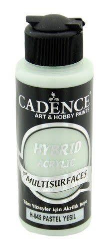 Cadence Cadence Hybride acrylverf (semi mat) Pastel groen 01 001 0045 0120  120 ml
