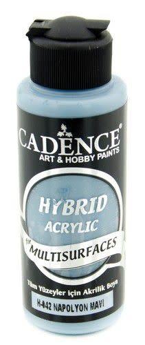 Cadence Cadence Hybride acrylverf (semi mat) Napoleon blauw 01 001 0042 0120  120 ml