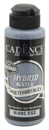 Cadence Cadence Hybride acrylverf (semi mat) Agean - blauw 01 001 0095 0120 120 ml (07-20)