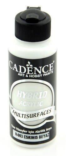 Cadence Cadence Hybride acrylverf (semi mat) Ancient - wit 01 001 0003 0120  120 ml