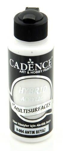 Cadence Cadence Hybride acrylverf (semi mat) Antiek wit 01 001 0004 0120  120 ml