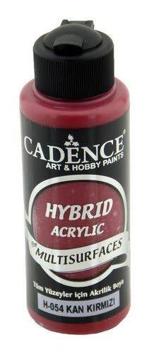 Cadence Cadence Hybride acrylverf (semi mat) Bloed rood 01 001 0054 0120  120 ml