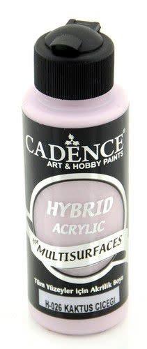 Cadence Cadence Hybride acrylverf (semi mat) Cactusbloem 01 001 0026 0120  120 ml