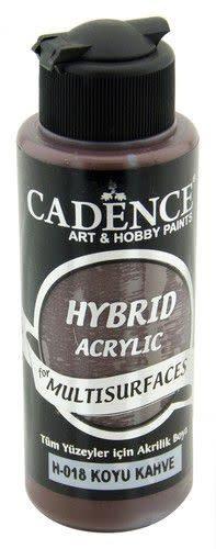 Cadence Cadence Hybride acrylverf (semi mat) Donker bruin 01 001 0018 0120 120 ml (07-20)