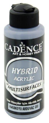 Cadence Cadence Hybride acrylverf (semi mat) Donker leigrijs 01 001 0058 0120 120 ml (07-20)