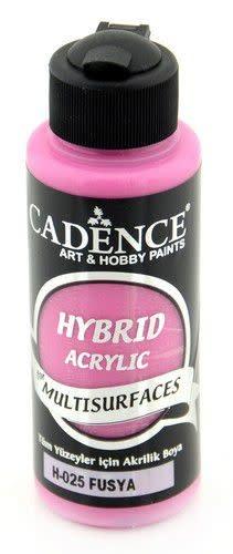 Cadence Cadence Hybride acrylverf (semi mat) Fushsia 01 001 0025 0120  120 ml