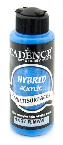 Cadence Cadence Hybride acrylverf (semi mat) Konings Blauw 01 001 0037 0120  120 ml